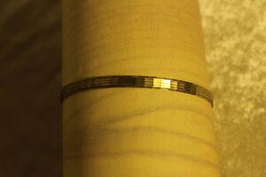 Damen  Armreif gelb Gold 8 ct.  333,  66 x 4,8 mm  *8113