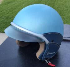 VESPA Soft Touch Helmet Blue-medium