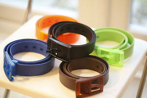 Travel Fast Airport Metal Detector Security Customs Silicone Belt Plastic Buckle