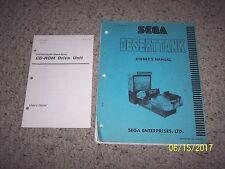 Sega - Desert Tank  - Owners Manual     ----- CD rom drive manual