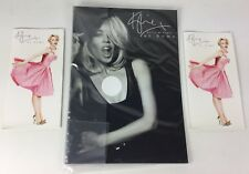 Kylie Minogue 'At Home' Rare Official Promo Card Shop Display, Unused Sealed (f)