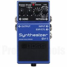 Boss SY-1 Synthesizer * NEW * sy1 guitar synth pedal
