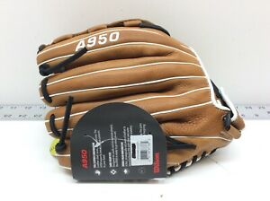 Wilson 12.5'' A950 Series Fast Pitch Softball Glove Left Hand All Positions