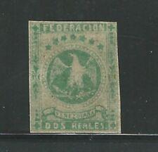 Venezuela: Scott 14, 2r. green no gum unused. VE2690
