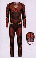The Flash Kostüm Superheld Gr. L (50/54) 2-teilig Fasching Karneval Verkleidet