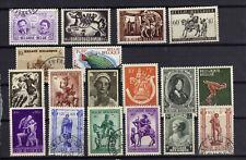 Stamps Belgium Mostly Semi- Postals Lot Of 18 Ref 814 - 610