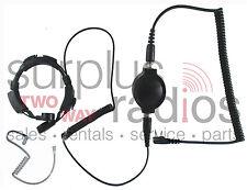 NEU Throat Mic Headset for Kenwood Radio TK3160 TK2160 TK2170 TK3170 TK3200 TK22