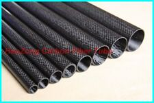 4PCS 10mm OD X 8mm ID X 500MM 3K Carbon fiber wing tube arm for Quadcopter US