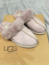 UGG Sheepskin Mauve Scuffette II New With Small Defect Ladies Slippers Size 6.5