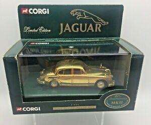 Corgi Jaguar MK II Gold Plated 40th Anniversary 1:43 Scale 01805 Ltd Ed No 400