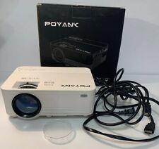 POYANK TP-01 2800 Lux Full HD LED Wireless Mini Projector