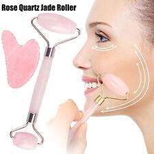 Rose Quartz Roller  Slimming  Face Massager Jade Roller Facial Massage Roller