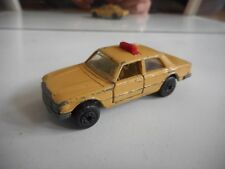 Matchbox Superfast Mercedes 450 SEL Taxi in Light Brown
