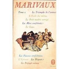 Le Triomphe de l'Amour L'Ecole des Mères Le Legs La Dispute L'Epreuve...MARIVAUX