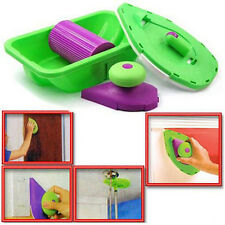 EASY PAINT PRO 4 BRISTLE PADS ROLLER N TRAY AND PAINTING POINT QUICK POST