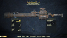 Fallout 76 (PC)  Railway Rifle★ ★ lv 50 Bloodied Explosive