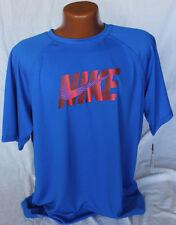 Nike Dri Fit Mens Graphic T-shirt - Blue - XL