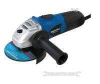 "SILVERLINE 650W 115MM 4.5"" ANGLE GRINDER CUTTING TOOL IN BOX 3 YEAR WARRANTY"
