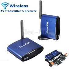 5.8GHz Wireless AV TV DVR Transmitter Receiver Sender Audio Video RCA  Cable