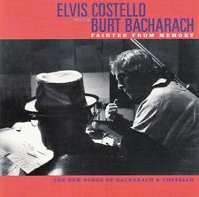 "CD ALBUM ELVIS COSTELLO / BURT BACHARACH  ""PAINTED FROM MEMORY"""