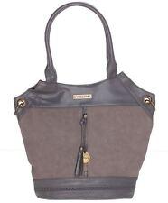 VOLCOM New RILEY Womens Ladies Shoulder Hand Bag Large Charcoal Handbag