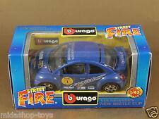 [PL3-6] BBURAGO BURAGO 1/43 STREET FIRE #41305 VOLKSWAGEN NEW BEETLE CUP NIB
