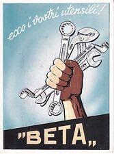 8737A) SOVICO BRIANZA (MONZA) UTENSILERIA BETA. VG. CON ANNULLO MECCANICO ROSSO