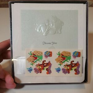 Hallmark Winnie the Pooh Thank You Cards NEW Sealed Lot of 2 Boxes Baby Shower