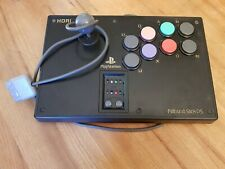 HORI Playstation one Fighting Stick PS Arcade Fight Stick Controller PS1 Tested