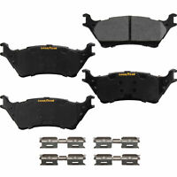 Goodyear Brakes GYD1602 Truck and SUV Carbon Ceramic Rear Disc Brake Pads Set