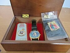 SLEEPING BEAUTY Series V Limited Edition WATCH with Wooden MUSIC BOX & PIN