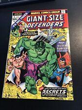 Giant Size Defenders #1 1974  vf/NEAR MINT HIGH GRade  cgc it Hulk Silver Surfer