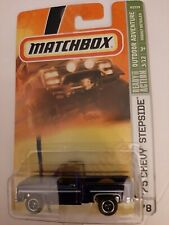 Matchbox Outdoor Adventure '75 Chevy Stepside Purple  #78 NICE!!