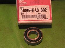 HONDA CR500R XR650 XR400 CR250 CR125 FRONT WHEEL BEARING OEM # 91065-KA3-832