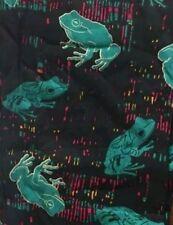 LuLaRoe OS MOSAIC FROGS Leggings One Size Unicorn *NEW* FREE SHIPPING
