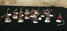 Giftco set of 18 Victorian Ornaments  Miniature