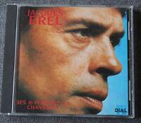 Jacques Brel, ses 16 plus belles chansons, CD Dial