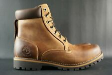 Original Timberland Rugged 6 Inch Lace-up Waterproof Boots MD Brown Fill Grain