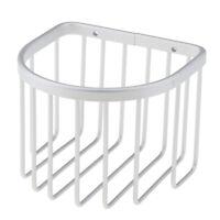 Aluminum Wall Toilet Paper Basket Bathroom Tissue Storage Holder Organizer