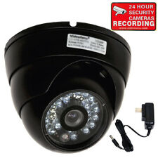 Outdoor Security Camera Day Night Vision Ir Led Ccd Wide Angle Lens w/ Power Md5