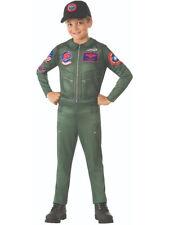 Childs Top Gun Maverick Flight Suit Jumpsuit Costume