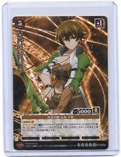 Prism Connect Hagure Yuusha no Estetica Chikage Izumi signed TCG anime card #2