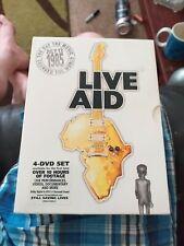 Live Aid (DVD, 2004, 4-Disc Set, Box Set)