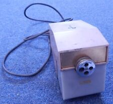 Vintage MCM BOSTON Model 41 Commercial Electric Pencil Sharpener Cream Colored