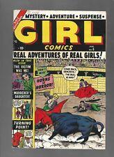 GIRL COMICS #6 - HORNS OF HORROR! - (6.5) 1950