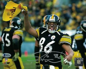 Reprint Autographed Hines Ward Pittsburgh Steelers 8X10 PHOTO Man Cave DECOR