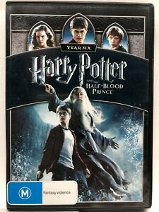 Harry Potter and the Half Blood - DVD - AusPost with Tracking