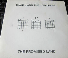 "DAVID J AND THE J WALKERS ‎– The Promised Land 7"" GLASS RECORDS indie NEW WAVE"