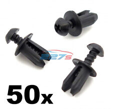 50x Plastic Trim Fastener Clips- Used by BMW for Boot Lining, Shields, Ducts etc