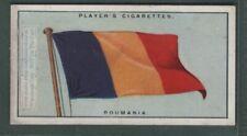 The Flag Of Romania Roumania 1920s Ad Trade Card